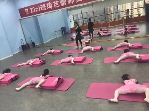 米粒舞蹈(武汉直营店)与zizi芭蕾舞蹈开展教学合作